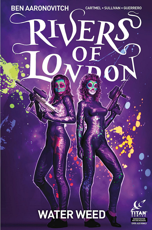 Rivers of London: Water Weed #1 cover by Alex Ronald