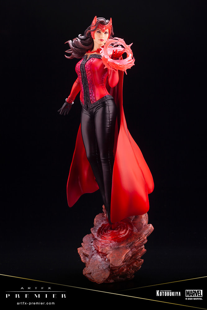 Scarlet Witch Shows Us True Power and Beauty with Kotobukiya