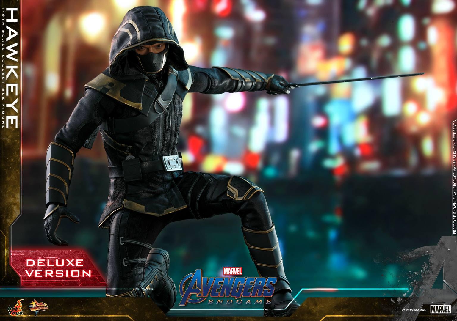 Hot Toys Reveals Hawkeye/Ronin and War Machine Avengers: Endgame Figures