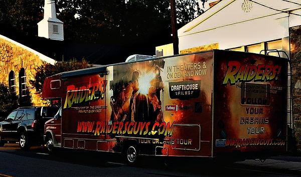 Raiders! RV courtesy of Grail Moviehouse