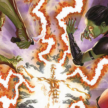 Guardians of the Galaxy #150 cover by Alex Ross