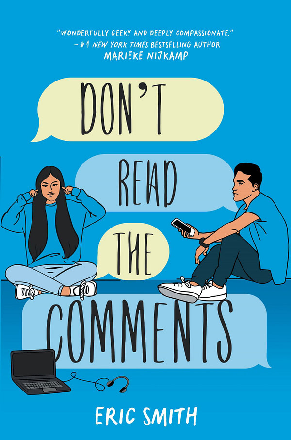 """Eric Smith's """"Dont Read The Comments"""" Releases January 28th"""