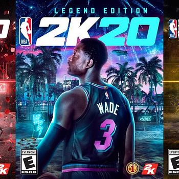 """Anthony Davis & Dwyane Wade Unveiled As """"NBA 2K20"""" Cover Athletes"""