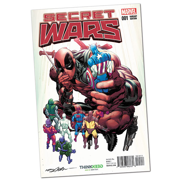 Variant Cover by Stacey Lee OF 8 SECRET WARS #7