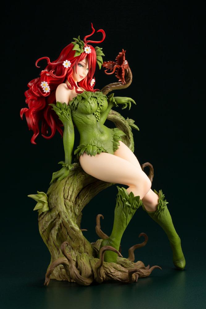 Poison Ivy Brings Bewitching Beauty with New Bishoujo Statue from Kotobukiya