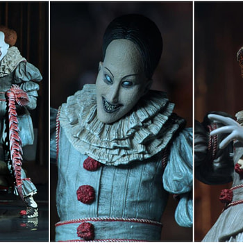 NECA Pennywise Collage