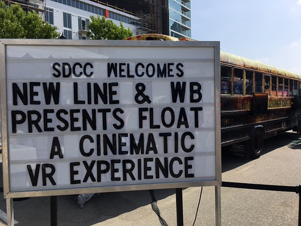 it virtual reality float