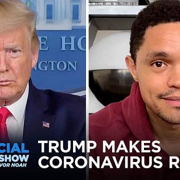 Coronavirus Hits the NBA and Trump Makes the Virus Racist   The Daily Social Distancing Show