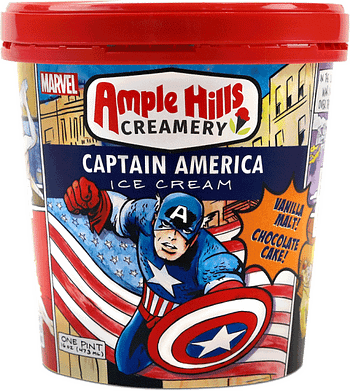 The Artwork From Ample Hill's Marvel Ice Cream