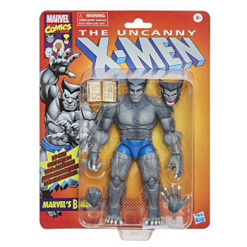 Beast Goes Vintage with New Marvel Legends Figure