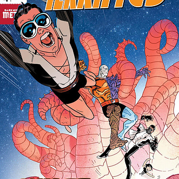 Terrifics #4 cover by Doc Shaner