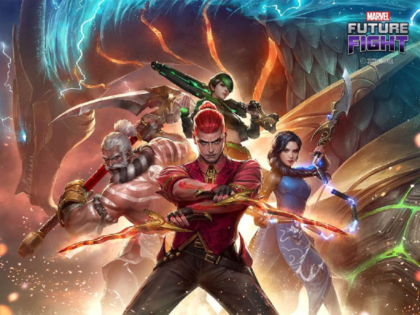 """The Warriors Of The Sky Have Now Joined """"Marvel Future Fight"""""""