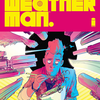 Weatherman #1 cover by Nathan Fox and Marcos Martin