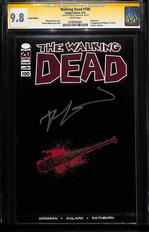 Comic Connect Walking Dead 100 Lucille Edition