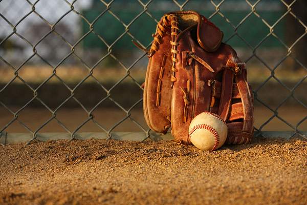 Baseball and Baseball Glove -- David Lee/Shutterstock.com