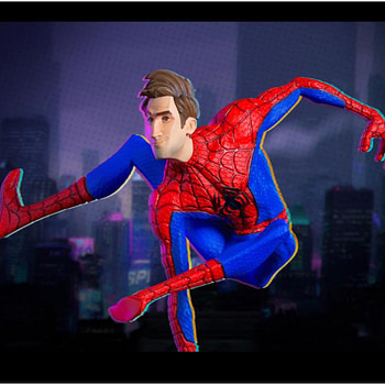 Peter B. Parker Gets His Own Spider-Verse Iron Studios Statue