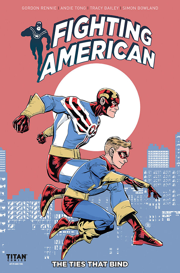 Fighting American #3 cover by Andie Tong
