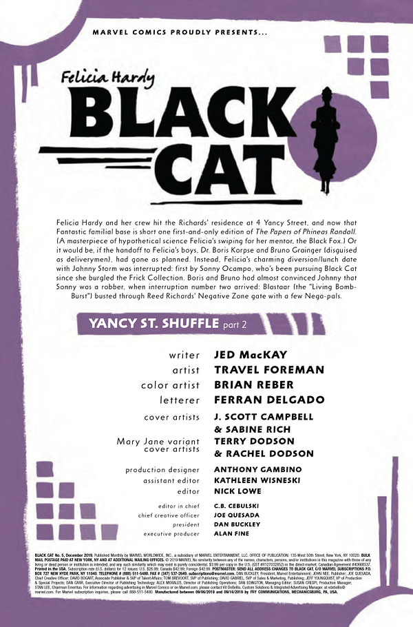 Black Cat #5 [Preview]