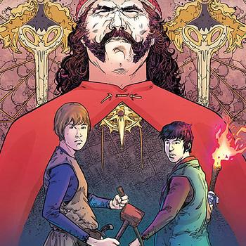 Brothers Dracul #1 cover by Mirko Colak and Maria Santaolalla