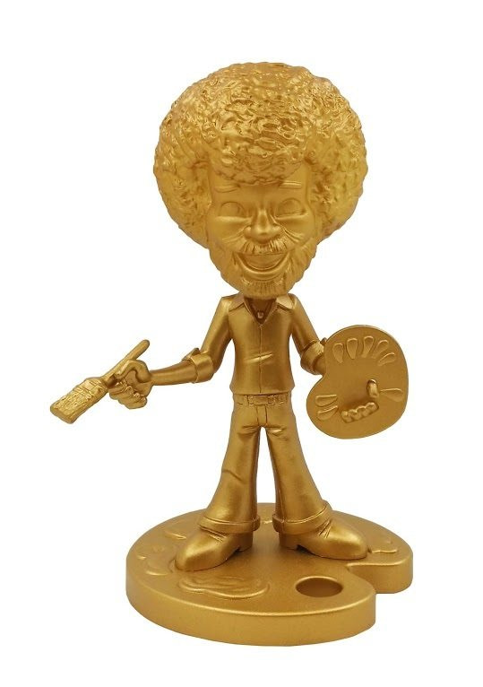 Bob Ross Gold variant Figure SDCC