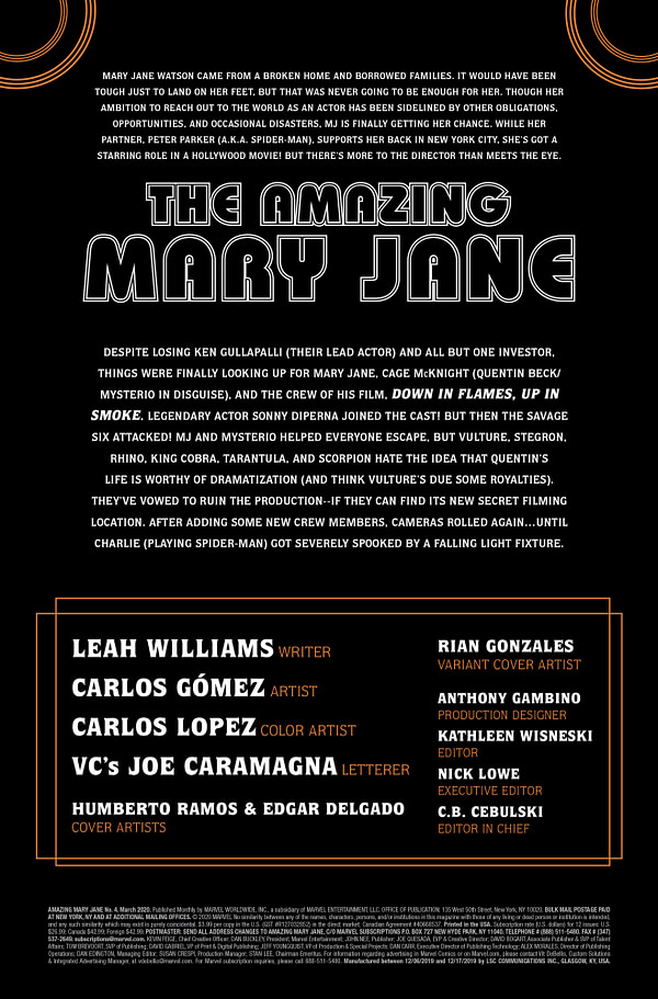 Amazing Mary Jane #4 [Preview]