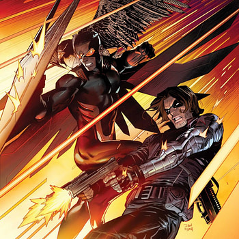 Did Bucky Drain the Swamp in This Preview of Falcon & Winter Soldier #1