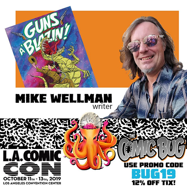 Mike Wellman Leaves The Comic Bug, Opens His Own Store, The Atomic Basement in Los Angeles