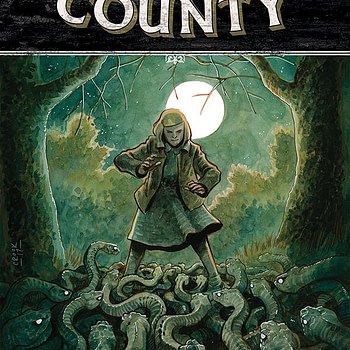 Harrow County #30 cover by Tyler Crook