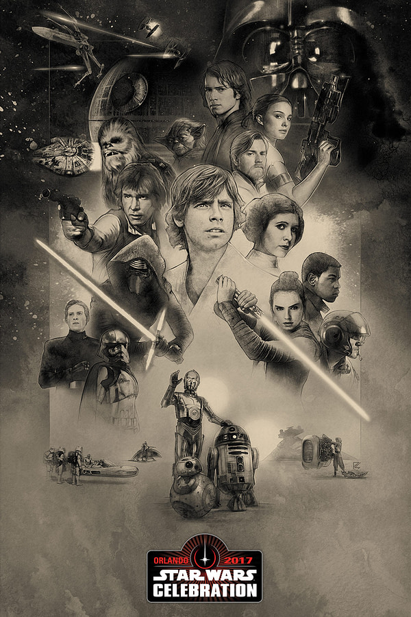 star wars celebration 2017 poster