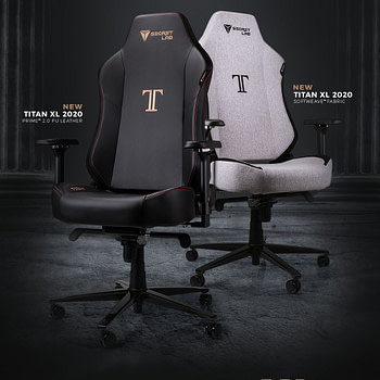 Secretlab Announces It's Latest Gaming Chair: The Titan XL