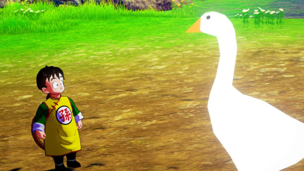 """You Can Now Play As That Irritating Goose in """"Dragon Ball Z: Kakarot"""""""