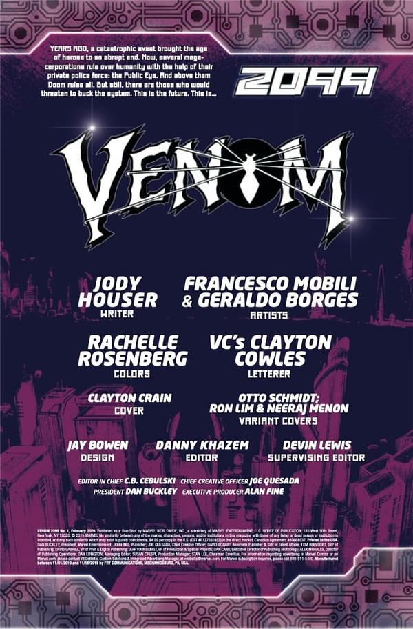 Venom 2099 #1 [Preview]