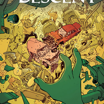 Her Infernal Descent #4 cover by Kyle Charles and Dee Cunniffe