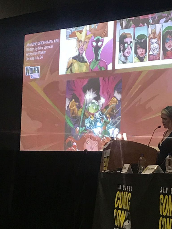 Women Of Marvel Panel at San Diego Comic-Con