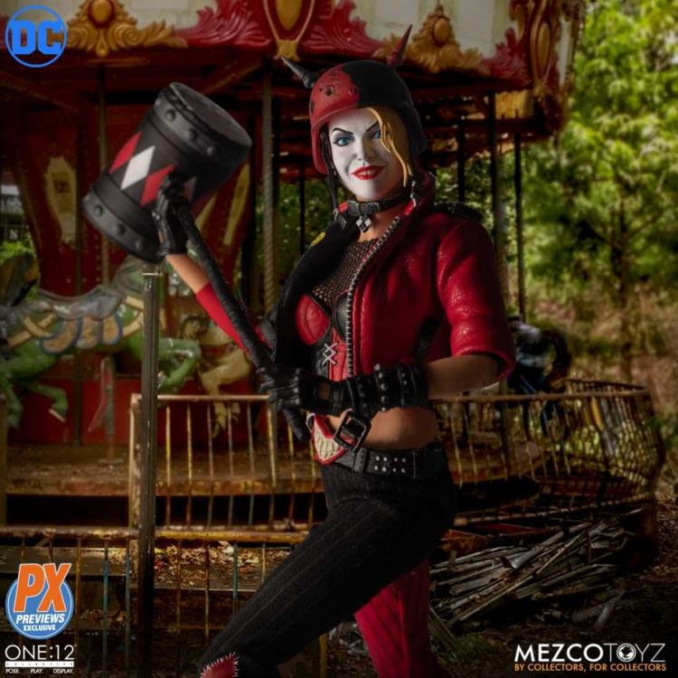 Harley Quinn is Playing for Keeps with New Mezco One: 12 Figure