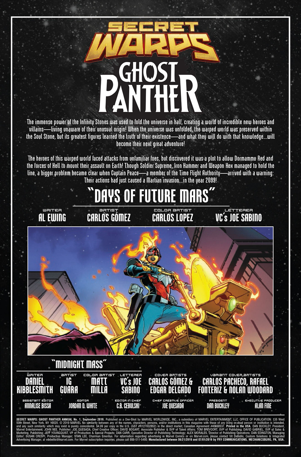 Secret Warps Ghost Panther Annual #1: Daddy Issues [Preview]