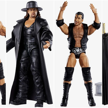WWE Mattel Wresltemania Elite Collage