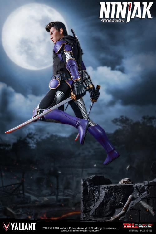 Ninjak 1/6th Scale Figure on the Way From TBLeague This Summer