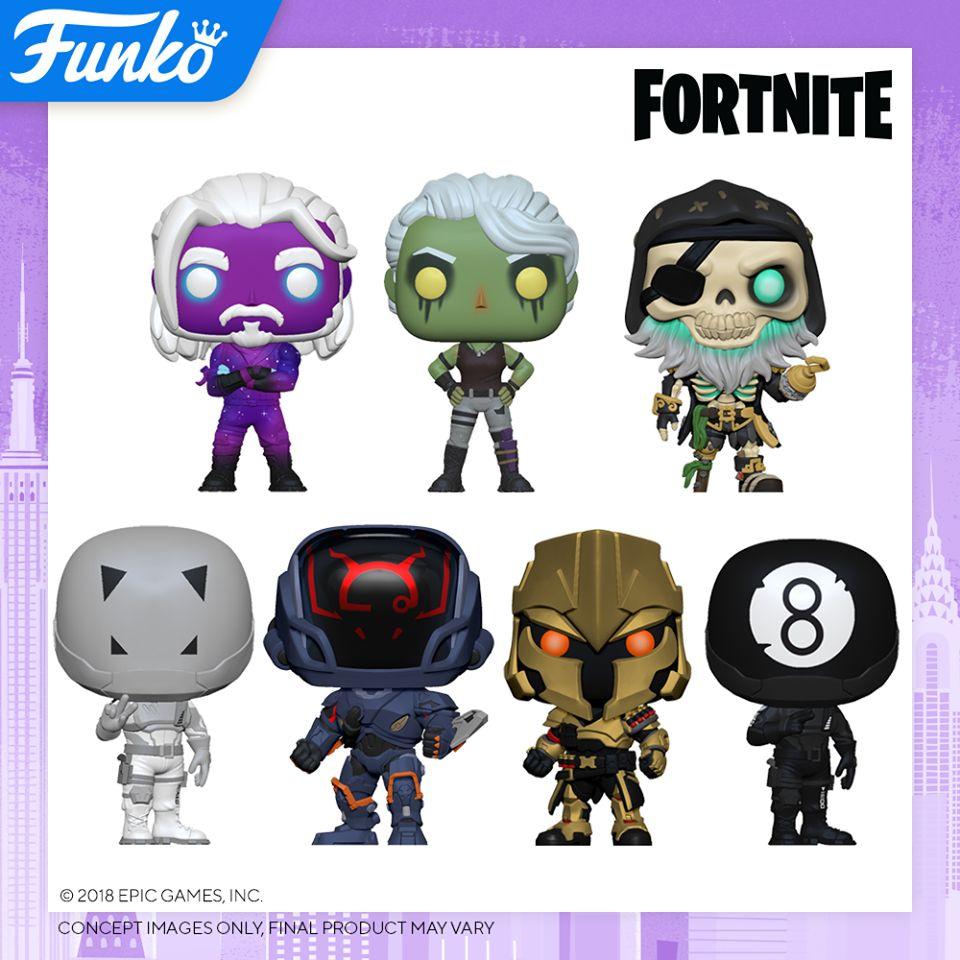 Funko Pop New York Toy Fair 2020 Reveals - Fortnite