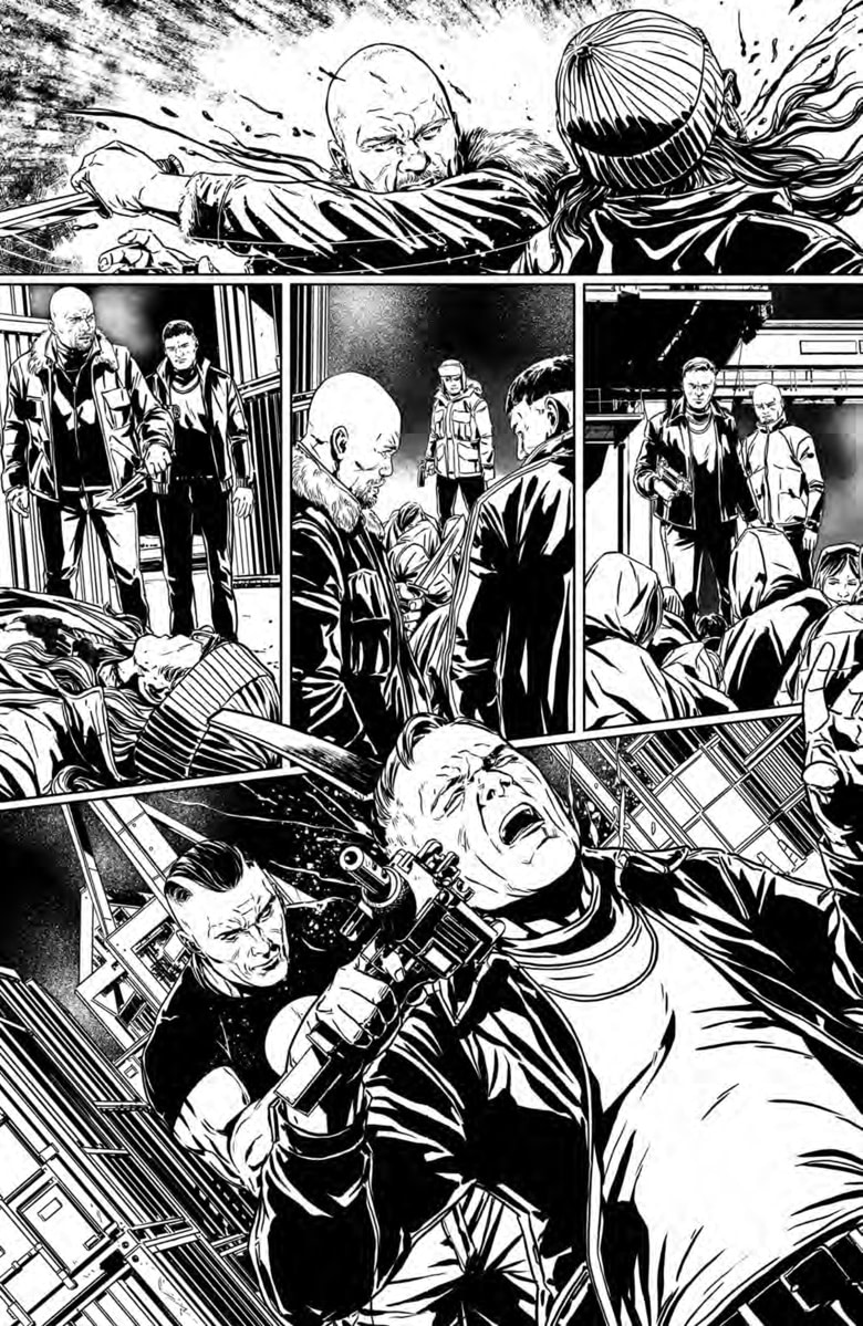 Feast Your Eyes on Marc Laming's Pencils for February's Bloodshot #0