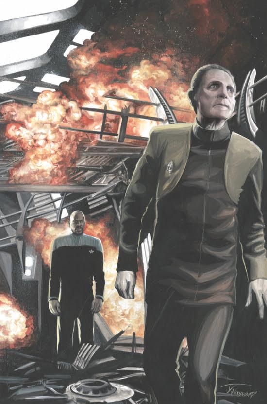 IDW Announces New Star Trek: Deep Space Nine Mini for April
