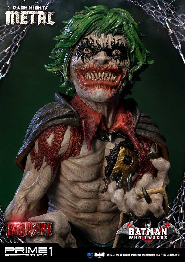 Dark Knights Metal Batman Who Laughs Prime 1 Studio Statue Exclusive 3