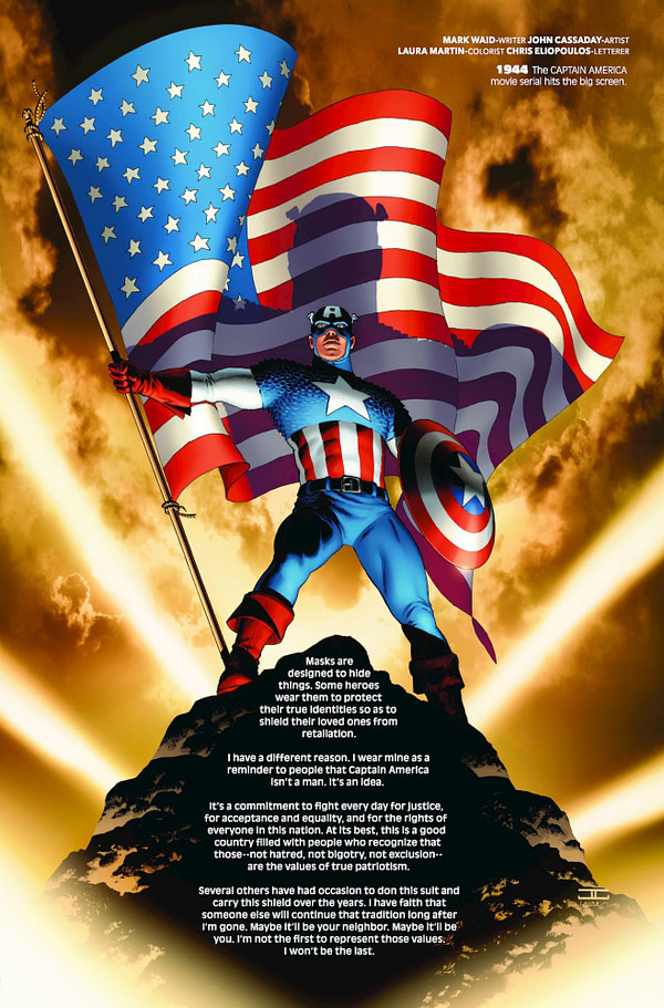 Marvel Stopped the Presses to Remove Mark Waid's Captain America Essay