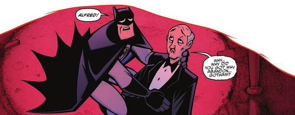 Batman TMNT Adventures #04 Panel 2