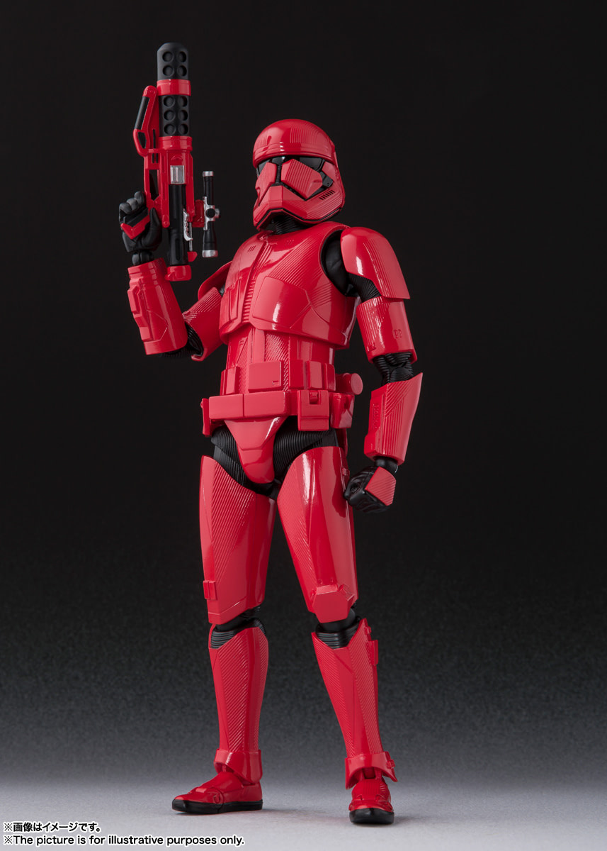 Kylo Ren, Rey, and Sith Trooper Get S.H Figuarts Figures