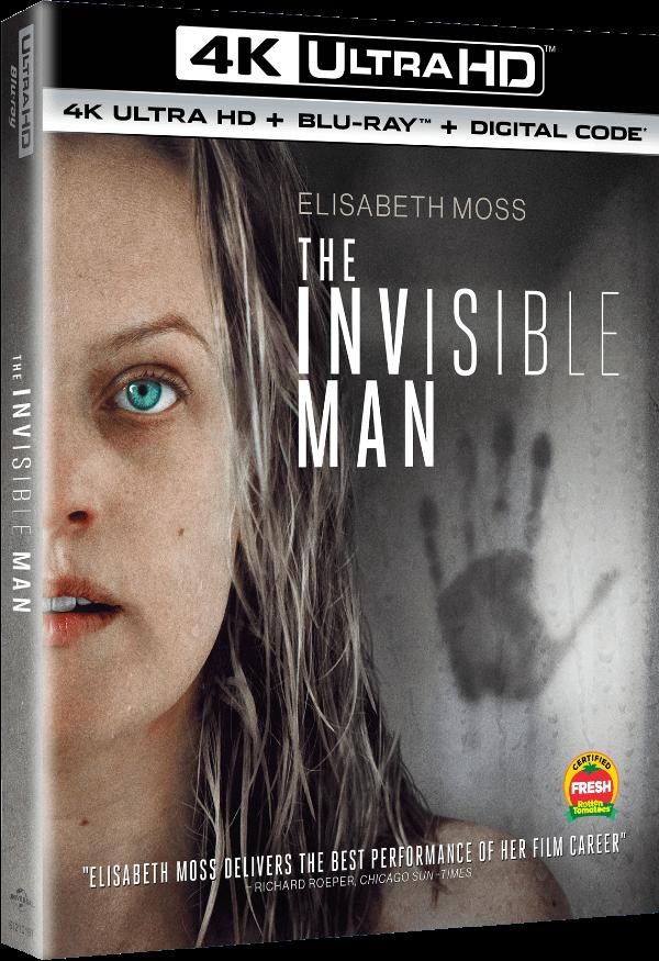 La couverture de la sortie à domicile de The Invisible Man est prévue pour le 26 mai.