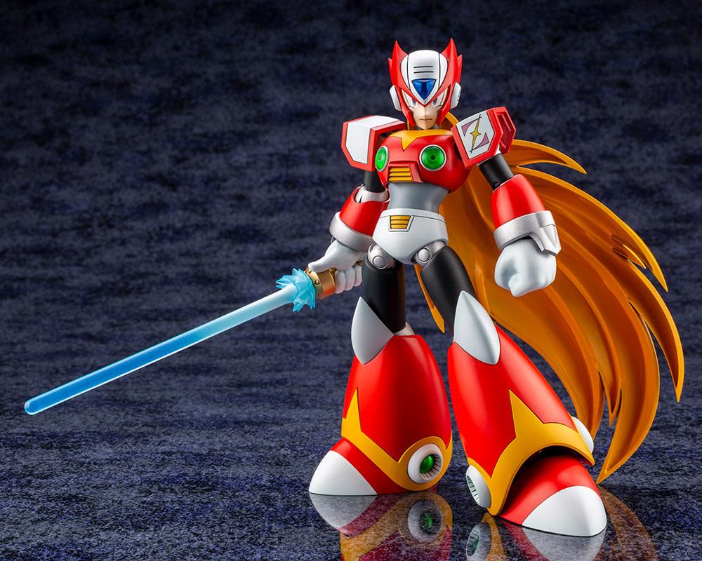 Mega Man X Zero Gets Two New Figures from Kotobukiya