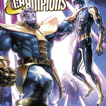 Infinity Countdown: Champions #2 cover by Clayton Crain