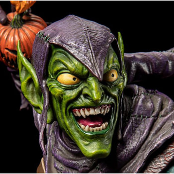 Green Goblin Wants The Spider Dead in New XM Statue