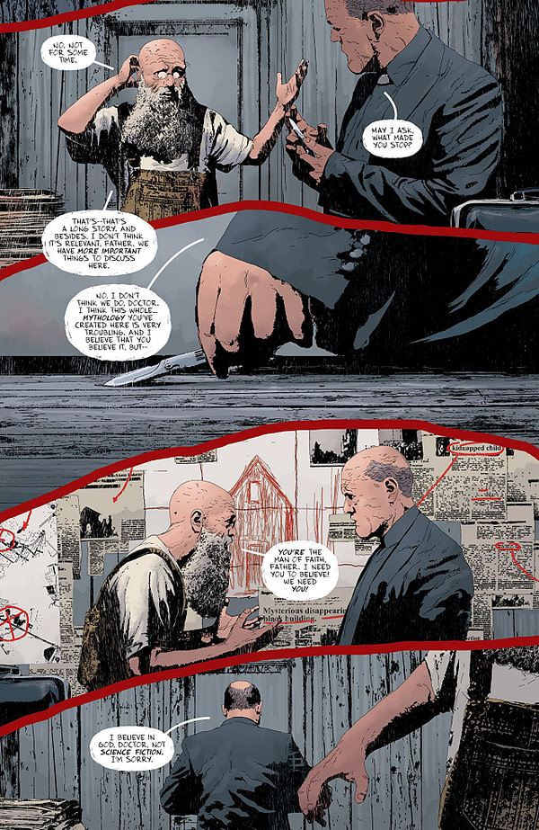 Gideon Falls #4 art by Andrea Sorrentino and Dave Stewart